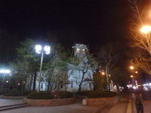 札幌時計台ライトアップ