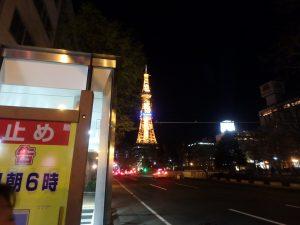 札幌テレビ塔ライトアップ