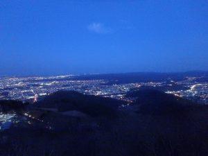 藻岩山(もいわやま) 夜景